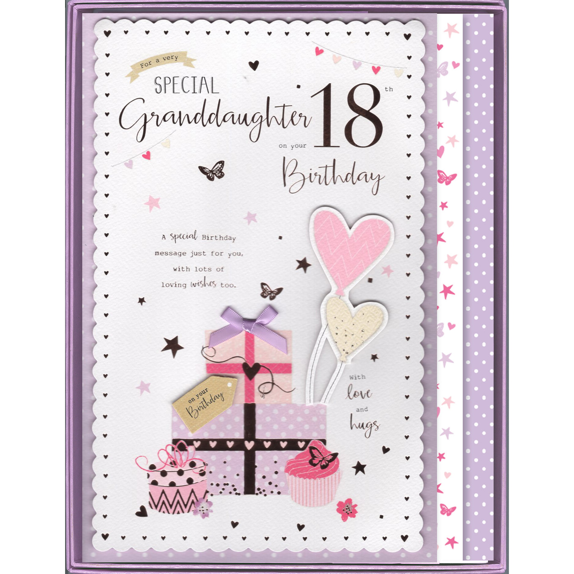Granddaughter 30th Birthday Boxed Card 30
